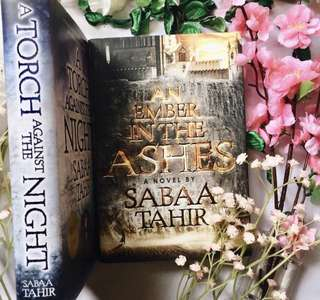 🌷 an ember in the ashes + a torch against the night - sabaa tahir [brand new hardbacks]