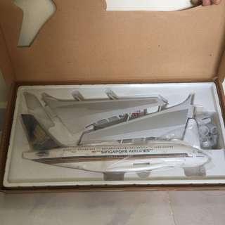 Model aircraft kit, model aircraft, airplane model, display model