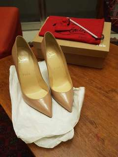 Original Christian Louboutin Pigalle Follies 100 cm (Nude)