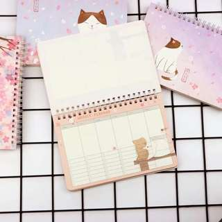 [Ready Stock] Weekly Planner