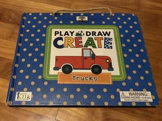 Play draw create trucks