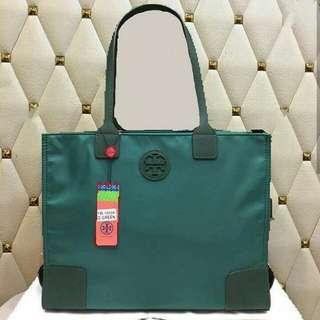 FREE SHIP Tory Burch Packable tote handbag shoulder bag#8
