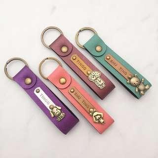 Personalised keychain Custom keychain customize keychain name keychain