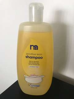Mothercare Goodbye Tears Shampoo