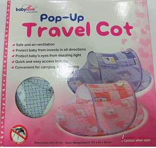 Pop - Up Travel Cot / Mosquito Net