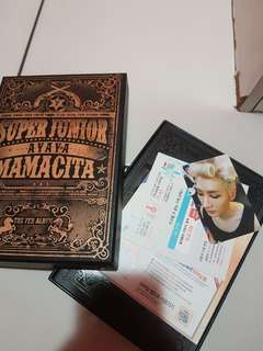 MAMACITA SUPER JUNIOR ALBUM (EUNHYUK PC)
