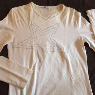 Long Sleeves Top (Vneck)