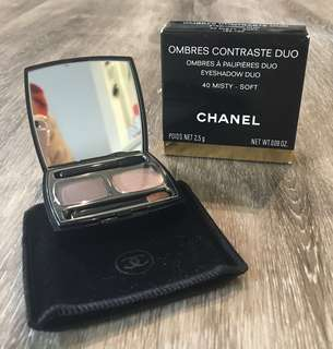 Chanel Eyeshadow Ombres Contraste Duo