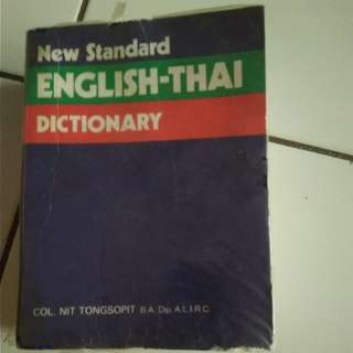 New standard English_Thai dictionary:Nit Tongsopit