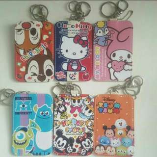 Disney Hello Kitty My Melody Chip n Dale Monster University Mickey and friends Tsum Tsum Ezlink Card Holder
