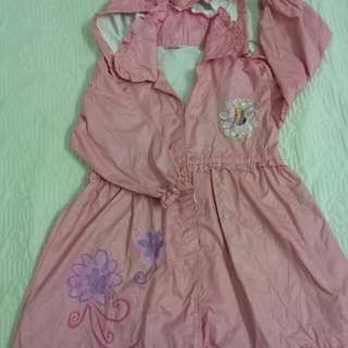 Barbie raincoat/ baju hujan