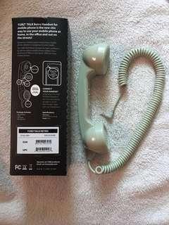 復古電話筒聽筒式耳機手機聽筒