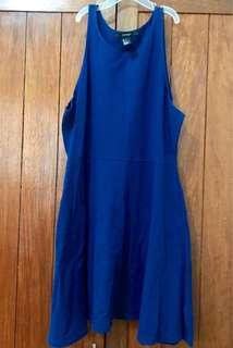Forever21 Blue Skater Dress