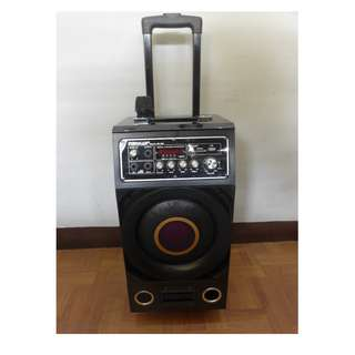 Trolley Portable Karaoke Sound System