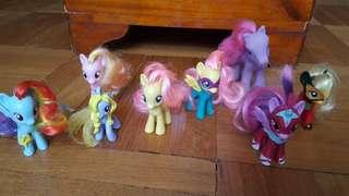 My little pony (eight my little pony figures)
