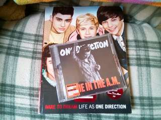 ONE DIRECTION(orig.Album Cd+official Book)