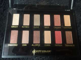CITY COLOR EYESHADOW ORIGINAL