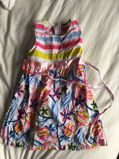 Tina Dear toddler floral dress
