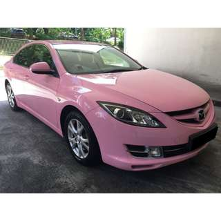 01/06/2018 - 04/06/2018 MAZDA 6 2.0A PINK ONLY $210 (P PLATE WELCOME)