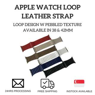 🚚 Apple Watch Loop Leather Strap