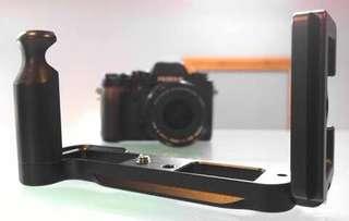 L plate / L bracket with grip for Fujifilm XT1