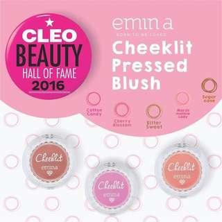 Emina cheeklit pressed blush
