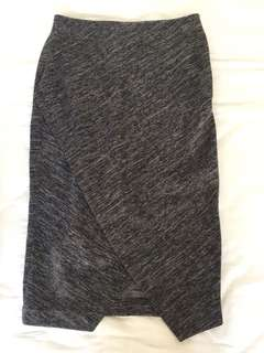 H&M midi pencil skirt