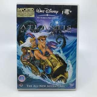 Atlantis Milo's Return DVD