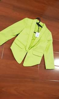 Portmans line green blazer size 6