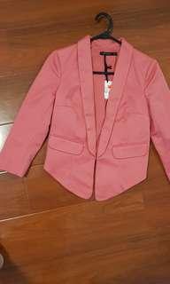 Portmans blush pink blazer size 6