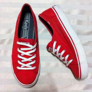 Authentic Keds Red Kickstart