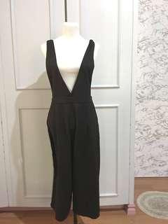 Black Korean Jumpsuit size 31 waist