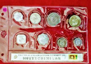 斯里蘭卡及匈牙利兩國各式錢幣