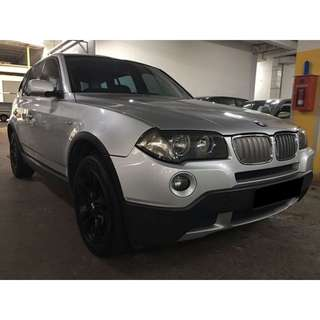 01/06/2018 - 04/06/2018 BMW X3 ONLY $360 (P PLATE WELCOME)