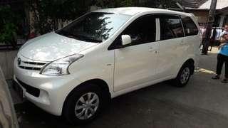 Toyota avanza E MT 2013 pemakaian 2014 pajak bln 1 km.65rb