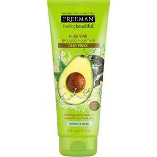 Freeman Avocado Clay mask
