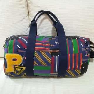 正牌Polo Ralph Lauren 圓筒袋 運動袋