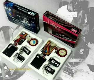 Alarm Motor remote control terbaik plus pasang surabaya