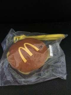 麥當勞芝士漢堡吊飾