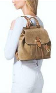 michael kors 'romy' suede backpack