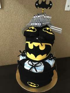 PAMPERS CAKE BATMAN THEME