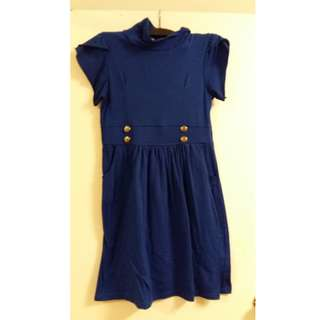 Blue dress  stretchy - Size S or M