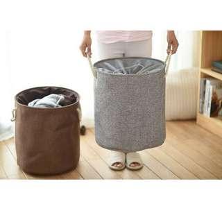 Japan Stylish Laundry Clothes Basket | Storage Box | Round