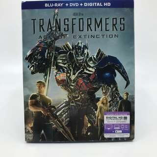 Transformers Bluray Disc