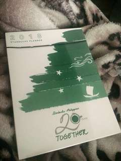 Starbucks 2018 planner collection (Small green & sealed)