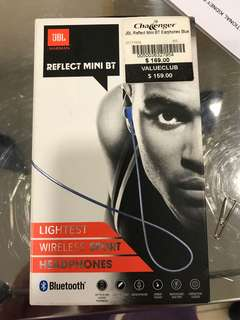 JBL earphones blue