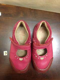 Softlzsallyfst Berry Leather Clarks