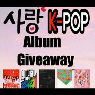 Joining giveaway by @leemin99