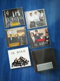 II Divo CD Albums collection