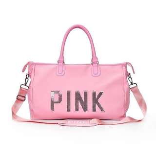 PINK TRAVEL BAGS